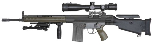 Heckler-Koch G3 Sniper Rifle