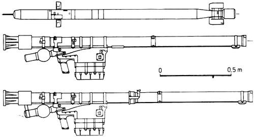 9K38 Igla + 9M39 Missile SA-18 Gimlet