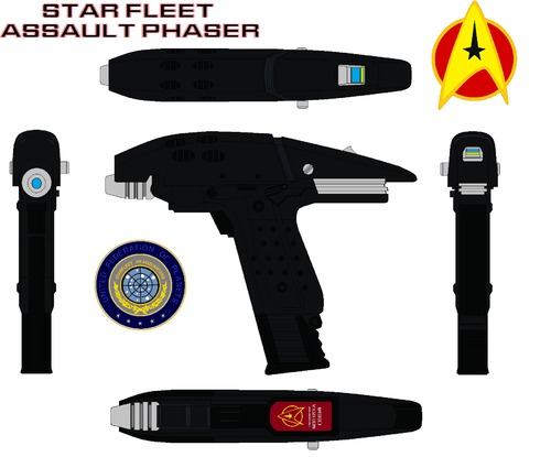 Assault Phaser Star Trek