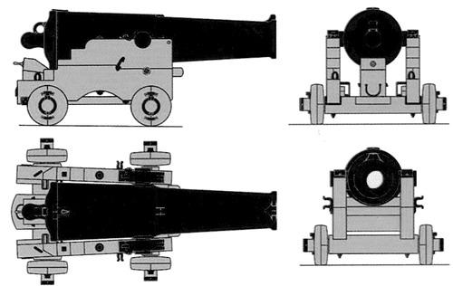 British Naval Gun 1827