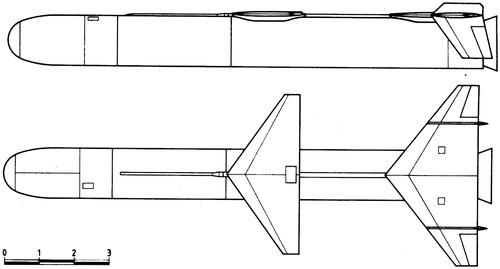 Burlak Cruise Missile