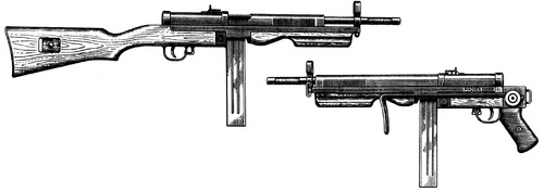 Madsen M1945 SMG