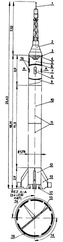 Mercury-Redstone Launch Vehicle