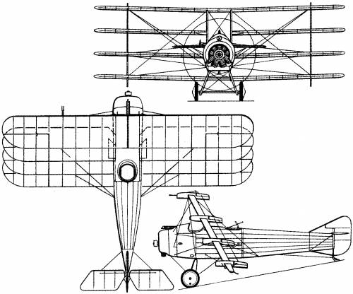 Armstrong Whitworth F.K.10 (England) (1917)
