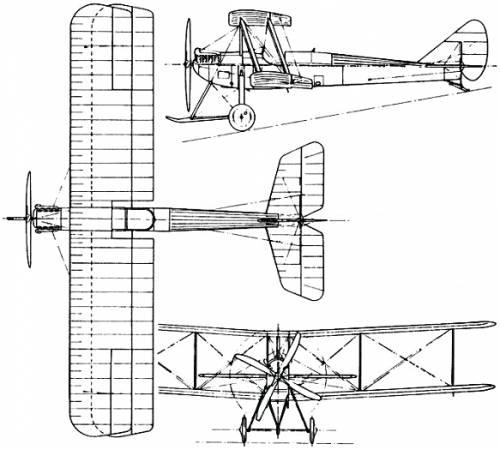 Armstrong Whitworth F.K.3 (England) (1915)