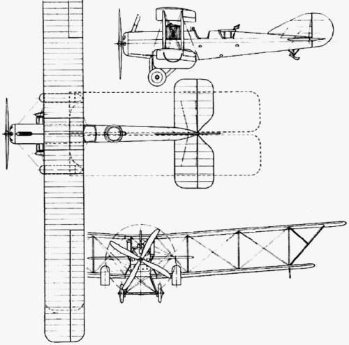 Avro 528 (England) (1916)