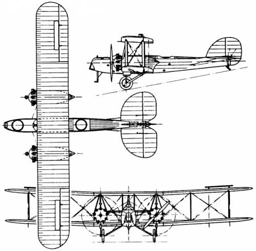 Avro 533 Manchester (England) (1918)