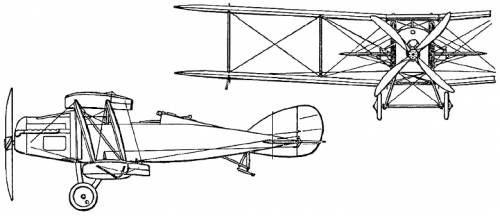 Bristol F.2A Fighter (England) (1916)