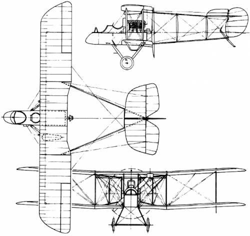 De Havilland (Airco) D.H.1 (England) (1915)