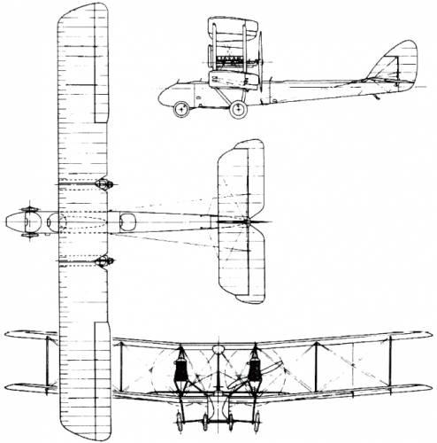 De Havilland (Airco) D.H.3 (England) (1916)