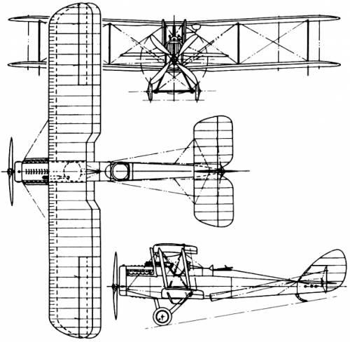De Havilland (Airco) D.H.4 (England) (1916)