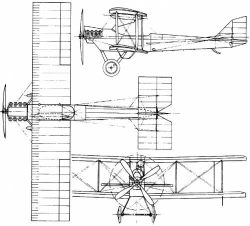 De Havilland (Airco) D.H.6 (England) (1916)