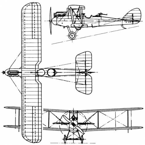 De Havilland (Airco) D.H.9 (England) (1917)