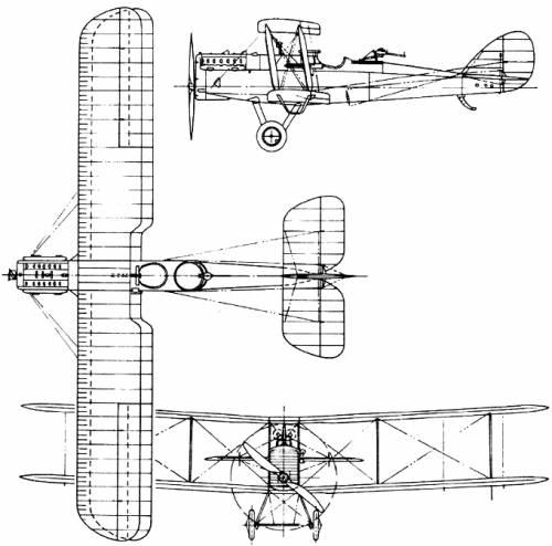 De Havilland (Airco) D.H.9A (England) (1918)