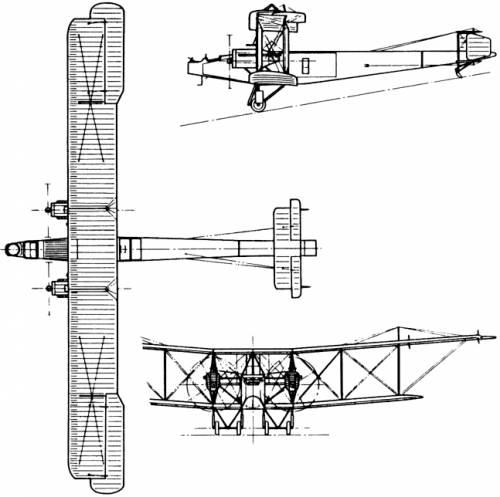 Handley Page H.P.12 O/400 (England) (1915)