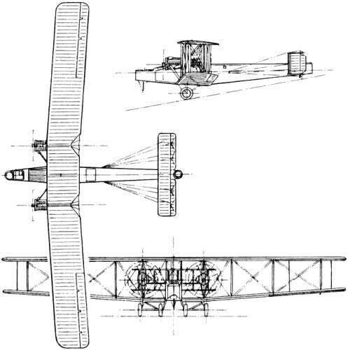 Handley Page V/1500 (H.P.15) (England) (1918)