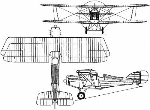 Martinsyde F.4 Buzzard (England) (1918)