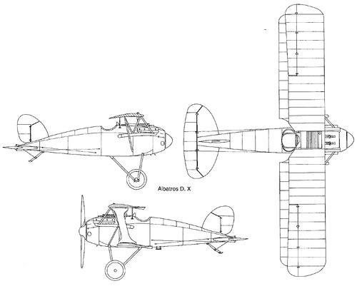 Albatros D.X