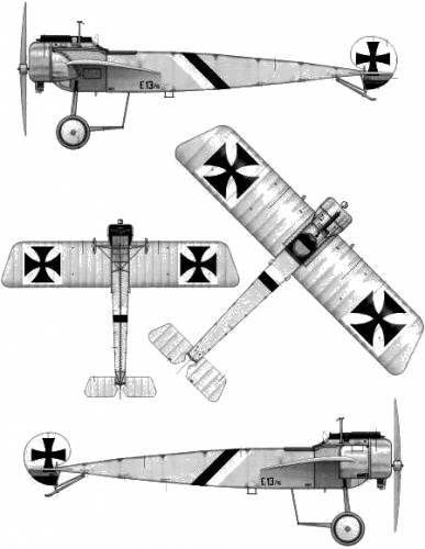 Fokker E.I Eindecker (1915)