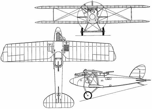 Halberstadt CL.II (Germany) (1917)