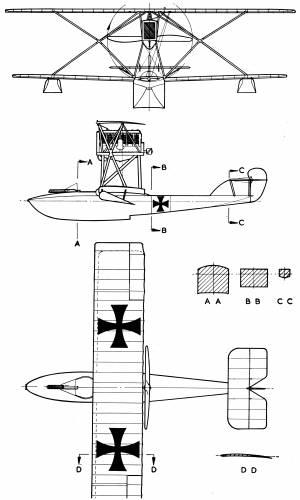 Hansa-Brandenburg CC Flying Boat