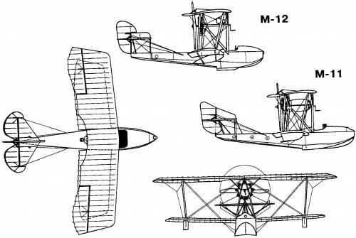 Grigorovich M-11, M-12 (Russia) (1916)