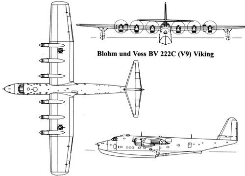 Blohm Voss BV 222C (V9) Viking
