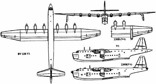 Blohm Voss BV 238 (1945)