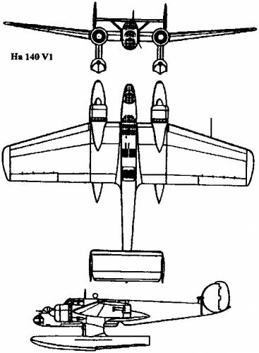 Blohm Voss Ha 140 (1937)