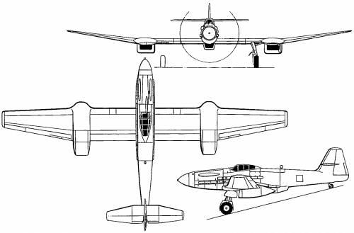 Blohm Voss Ha 155 (1944)
