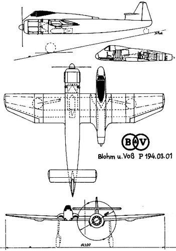 Blohm-Voss P.194.03.01