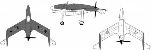 Blohm Voss P.208