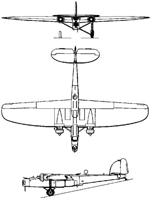 Dornier Do 11 / Do 13 / Do 23 (1934)