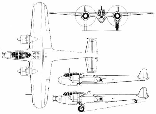 Dornier Do 17Z-7 Do 17Z-10