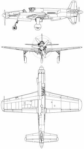 Dornier Do 335 A1 Pfeil