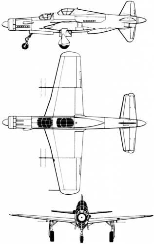 Dornier Do 335 A6 Pfeil