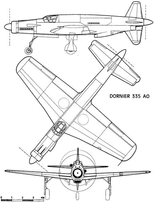 Dornier Do 335A-0 Pfeil