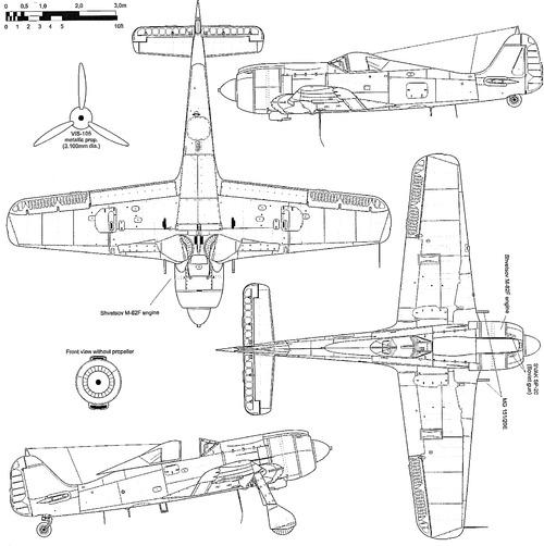 Focke-Wof Fw 190 M82 Engine USSR