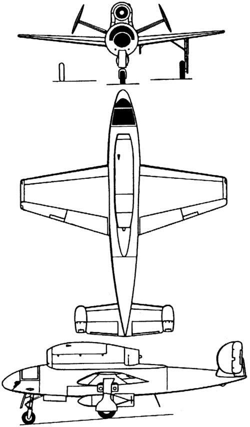 Henschel Hs 132 (1945)