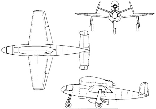 Henschel Hs 132 V1
