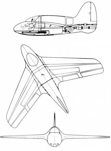 Lippisch P 01-116 Rocket