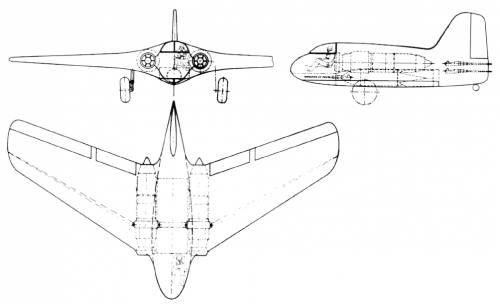 Lippisch P 10 Turbojet