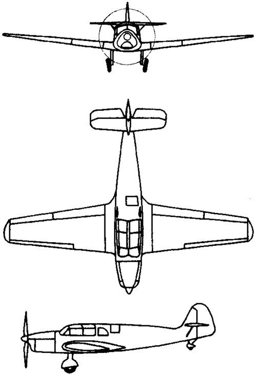 Messerschmitt Bf 108 Taifun (1934)