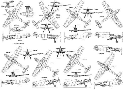 Messerschmitt Bf 109 A-E