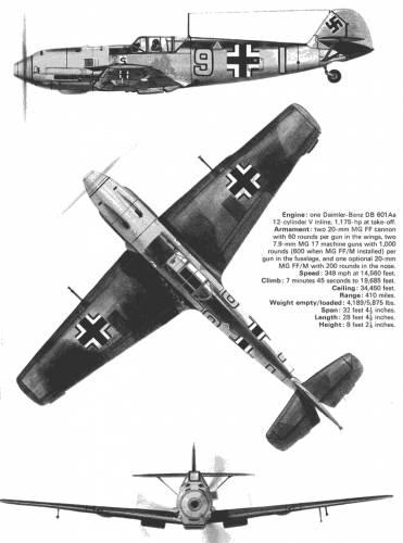 Messerschmitt Bf 109 E 3