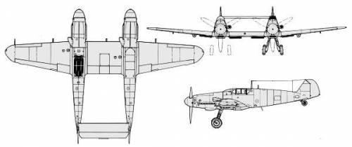 Messerschmitt Bf 109 Z