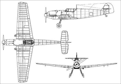 Messerschmitt Bf 109B-1