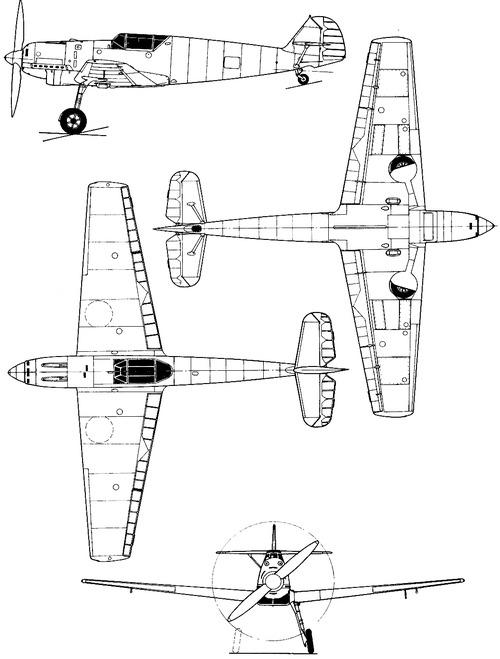Messerschmitt Bf 109B-1 'Bruno'