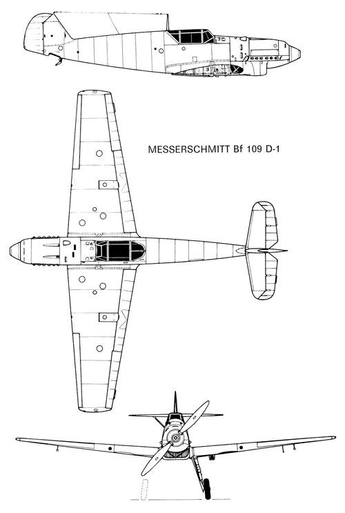 Messerschmitt Bf 109D-1