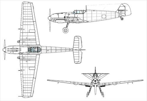 Messerschmitt Bf 109E-3 'Emil'